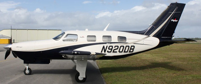 Piper Mirage side view